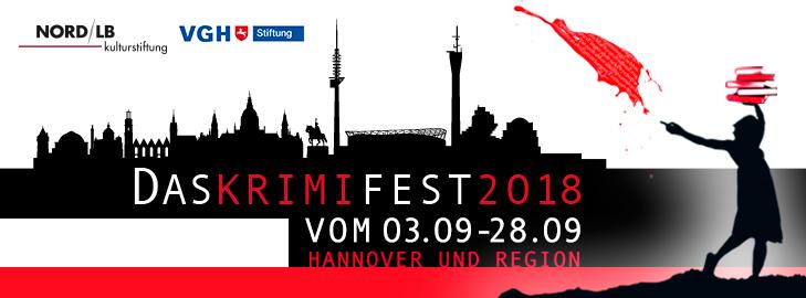 8. Krimifest für Hannover und Region 2018