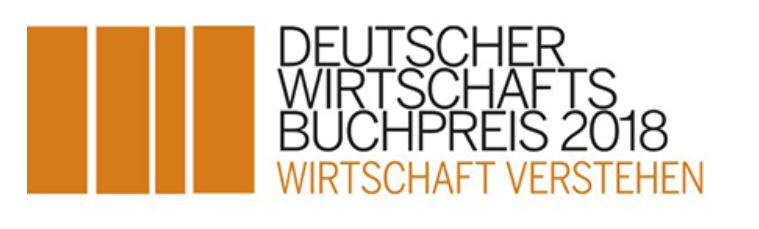 Deutscher Wirtschaftsbuchpreis 2018