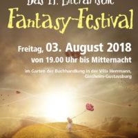14. Literarisches Fantasy-Festival im Garten der Villa Herrmann