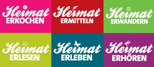 Regionalbuchtage 2018 - Heimat erlesen