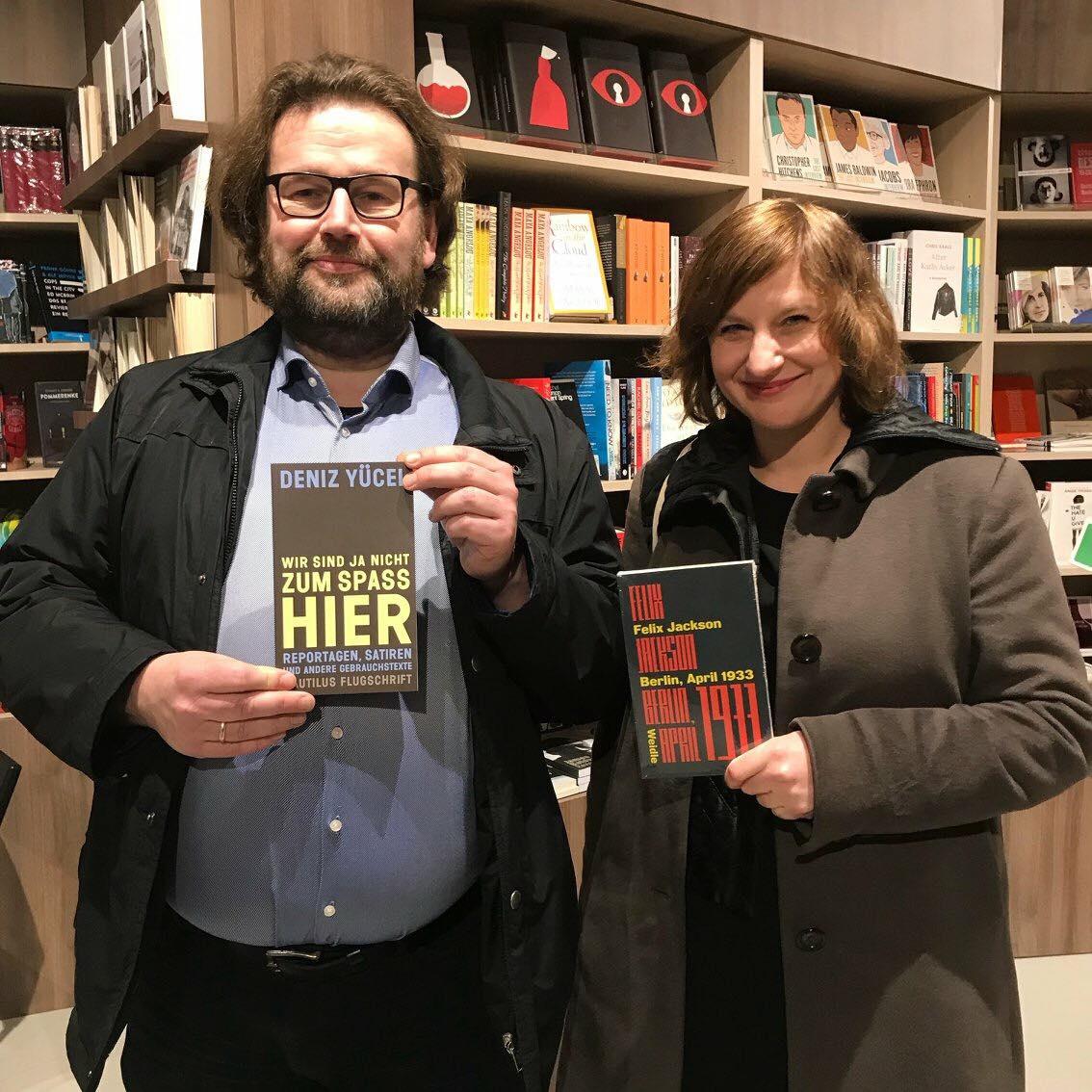Jörg Sundermeier und Kristine Listau