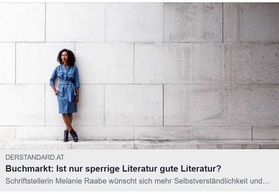 Melanie Raabe ist für weniger Dünkel bei der Literaturvermittlung