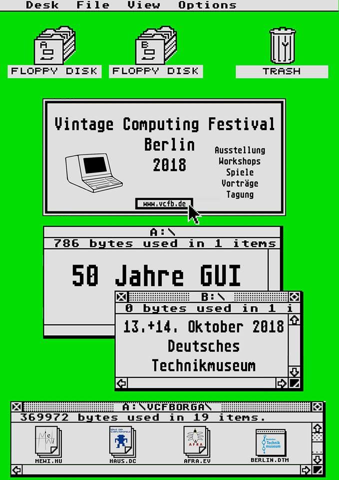 Vintage Computing Festival Berlin 2018