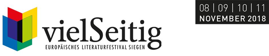 vielSeitig. Europäisches Literaturfestival Siegen 2018