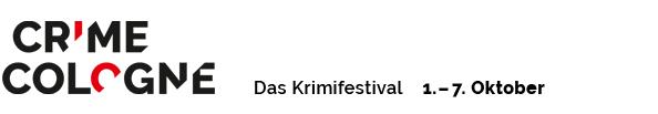 Crime Cologne 2018 - Das Kölner Krimifestival