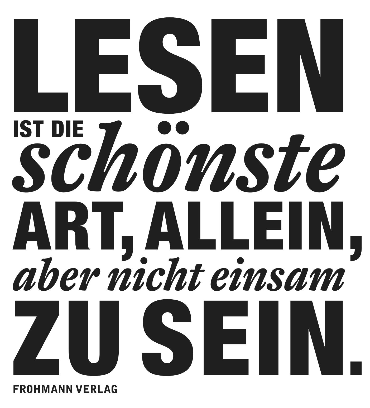 FROHMANN-LESEN-Poster zum Ausdrucken