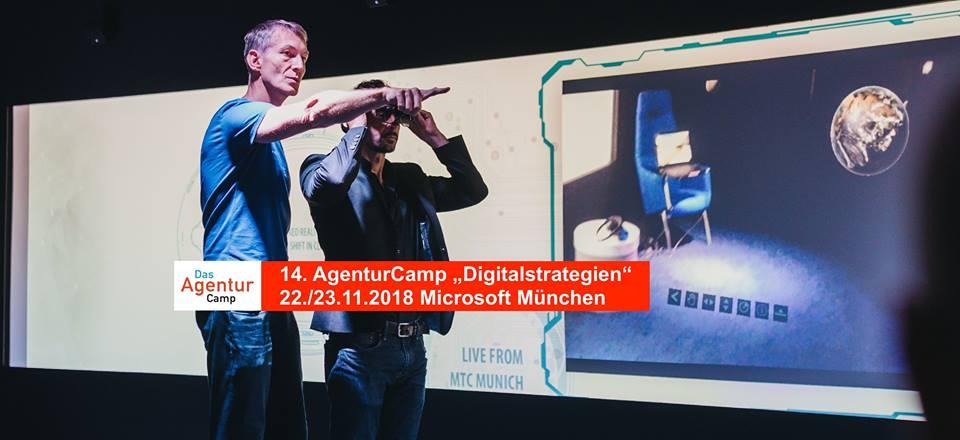 "14. AgenturCamp München ""Digitalstrategien"""
