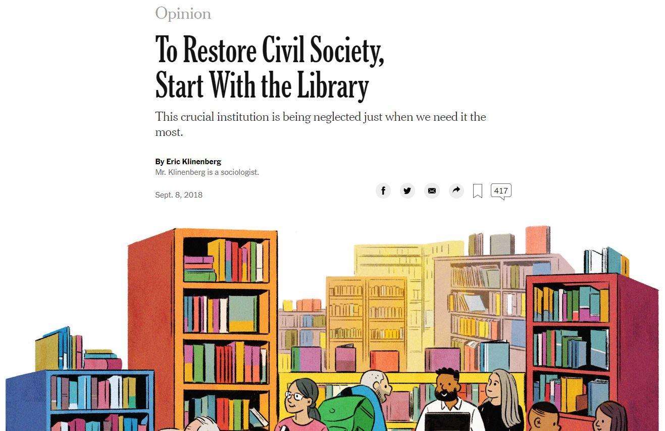 Bibliotheken als soziale Infrastruktur