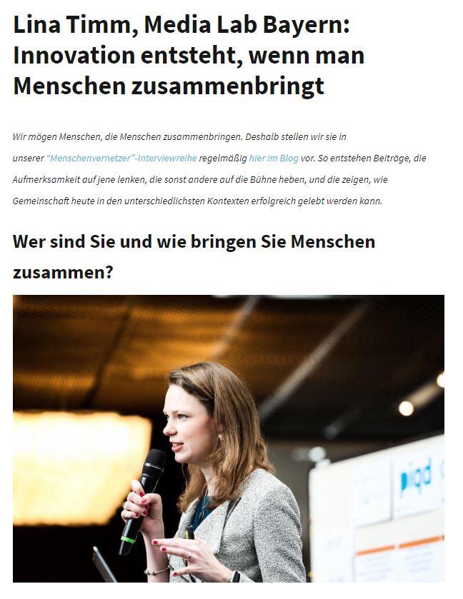 Interviewreihe: Menschenvernetzer*innen