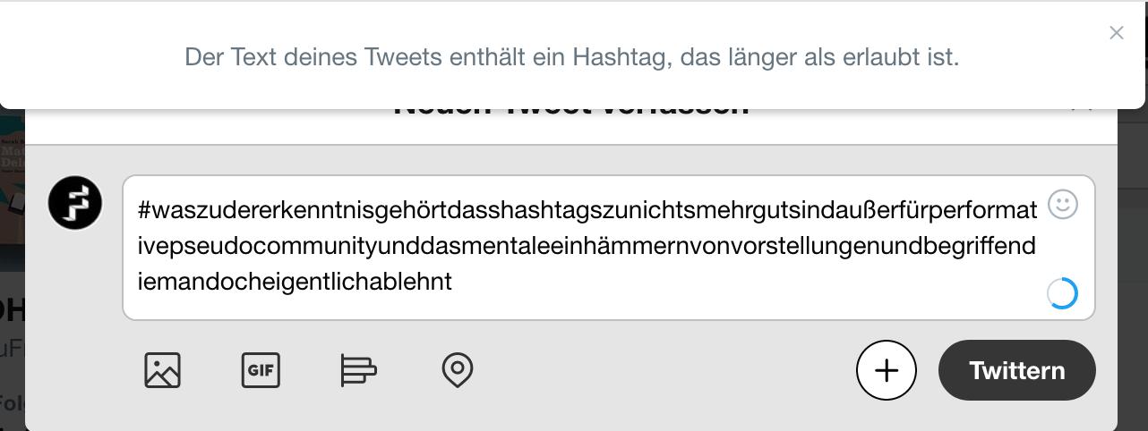 Berit Glanz über die ästhetische Funktion von Hashtags