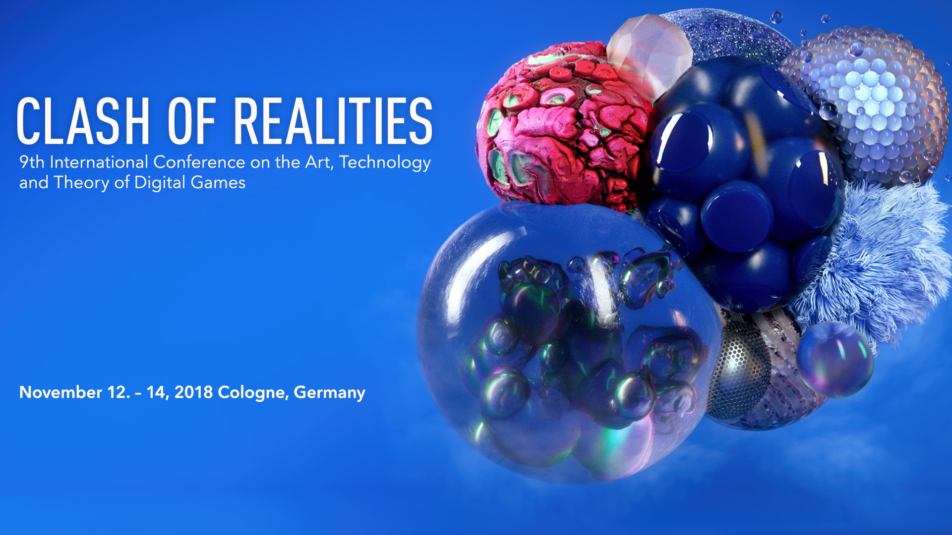 Clash of Realities Conference 2018