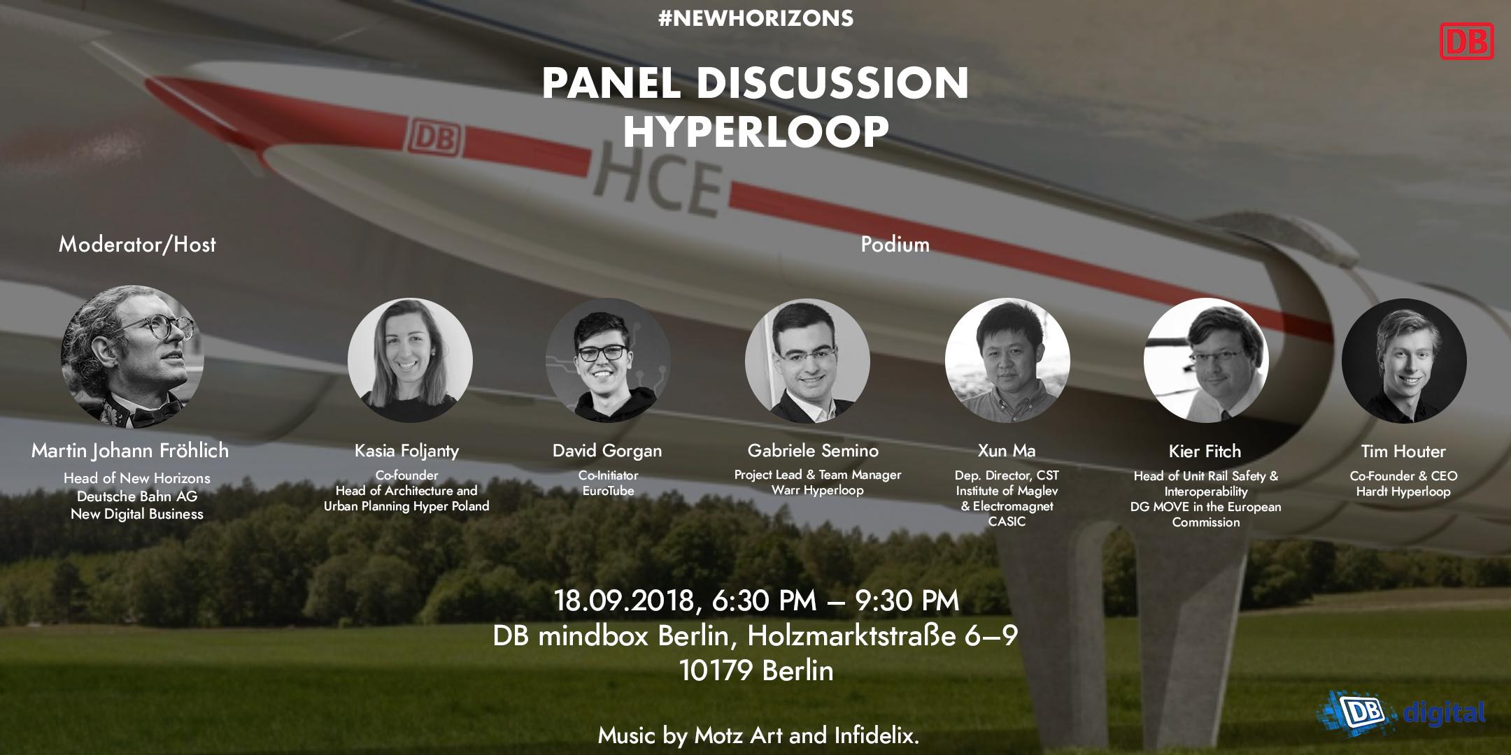 New Horizons diskutiert europäischen Standard für Hyperloops
