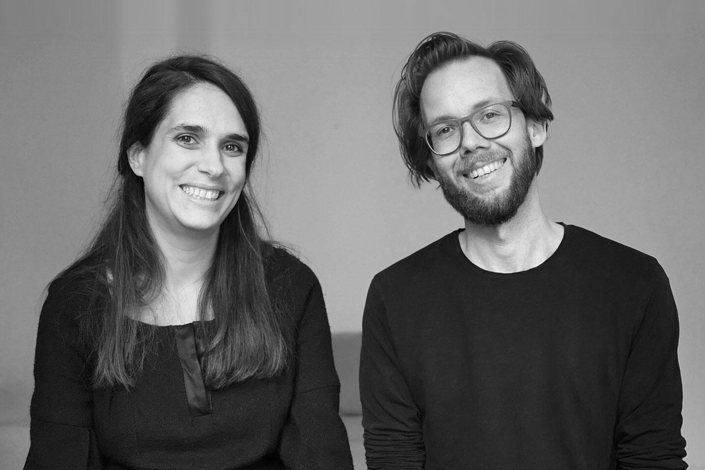Marianna Hillmer und Johannes Klaus