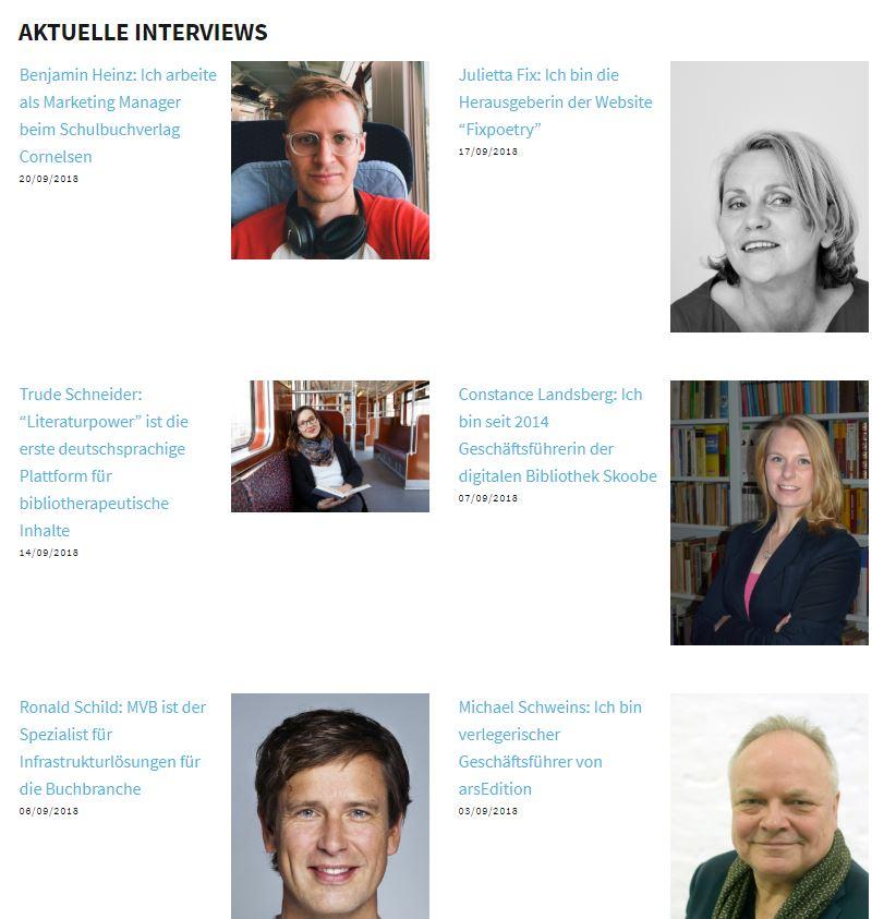 #wasmitbuechern-Interviews: Eine kleine Buchbranchenhistorie der letzen 10 Jahre