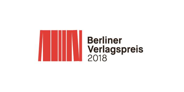 Verleihung des 1. Berliner Verlagspreises 2018