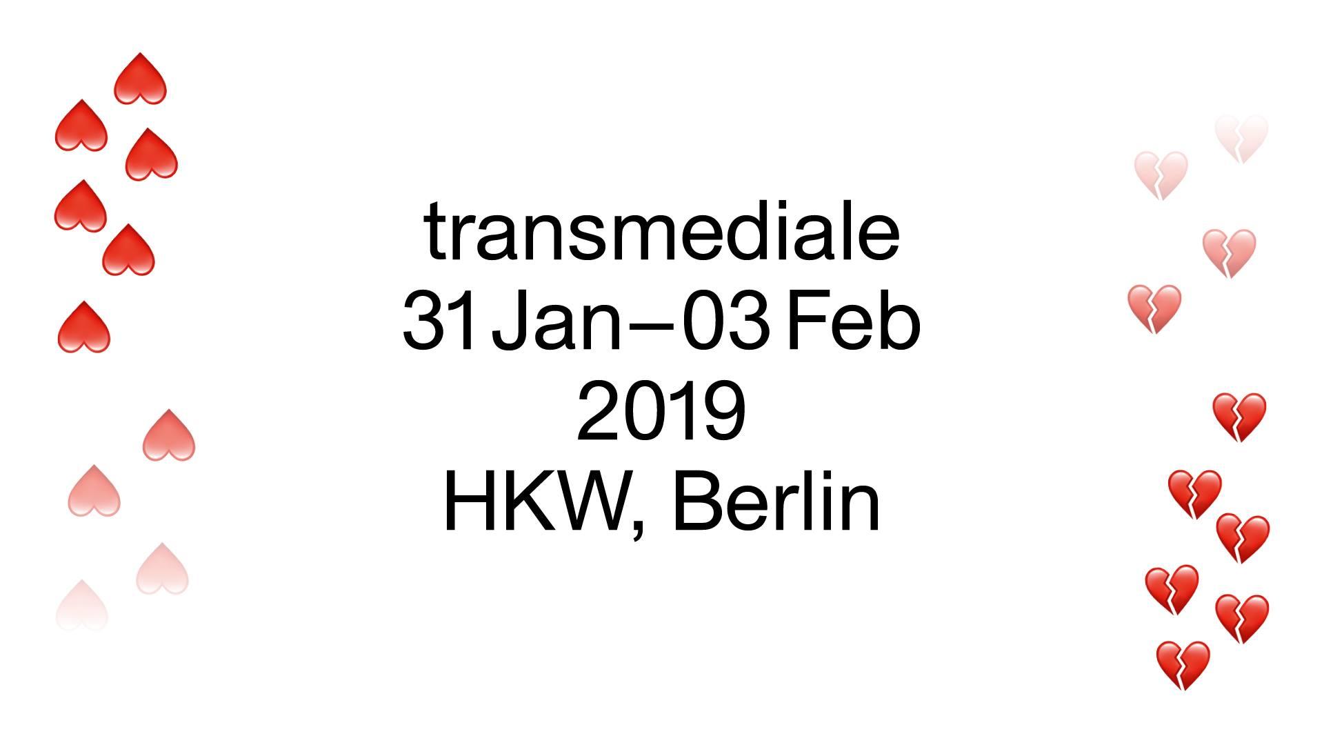 transmediale 2019