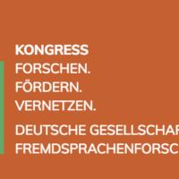 Kongress der Deutschen Gesellschaft für Fremdsprachenforschung 2019