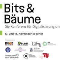 Bits & Bäume 2018 - Konferenz für Digitalisierung & Nachhaltigkeit