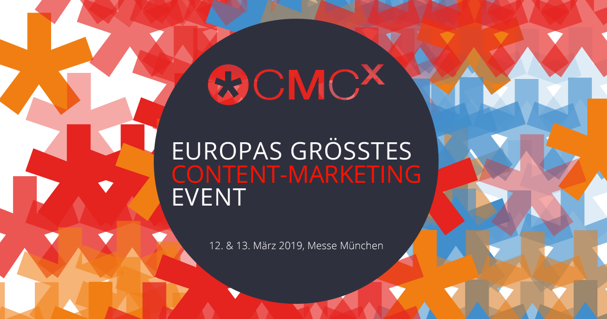 CMCX - Content-Marketing Conference & Expo 2019