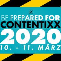 CONTENTIXX 2020