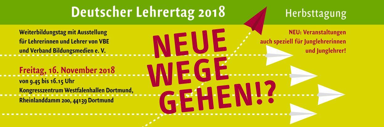 Deutscher Lehrertag 2018