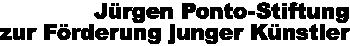 Literaturpreis 2018 der Jürgen Ponto-Stiftung an Philipp Weiss