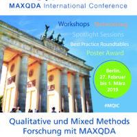 MAXQDA International Conference 2019 (MQIC)