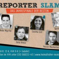 Reporter Slam - das Finale der Besten 2018 in Berlin