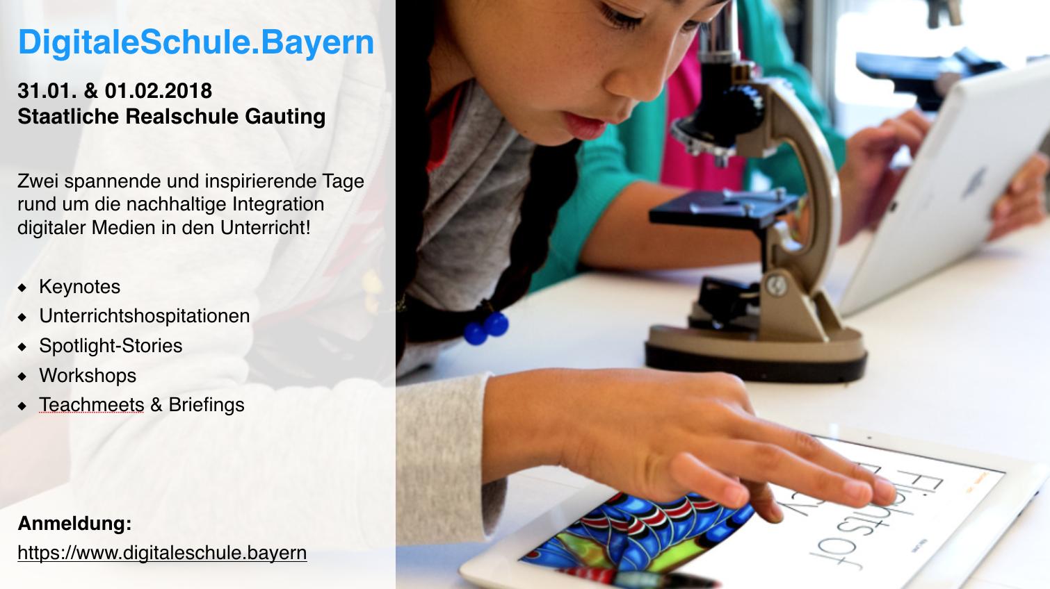 DigitaleSchule.Bayern - Lehrerkongress 2019