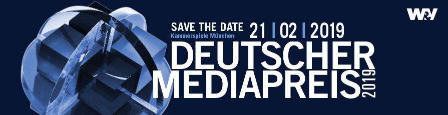 Preisverleihung Deutscher Mediapreis 2019