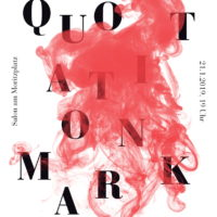 """Literatursalon """"QUOTATION MARK"""" - Always in poetry. Without fear. Without border!"""