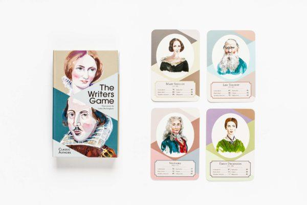 The Writers Game: Quartett-Spiel mit den großen Klassikern derLiteraturgeschichte (Englisch)