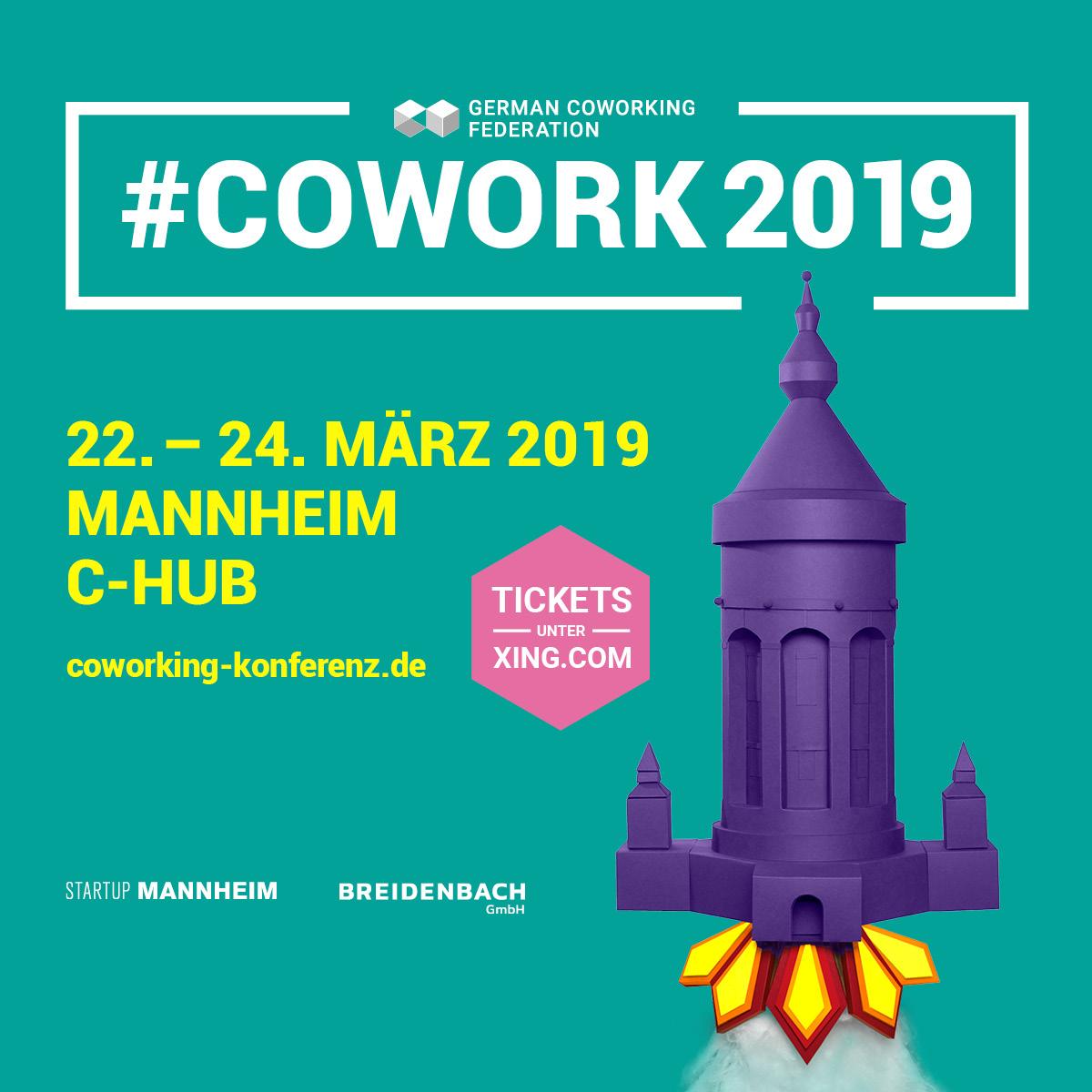 Coworking Konferenz & Barcamp 2019