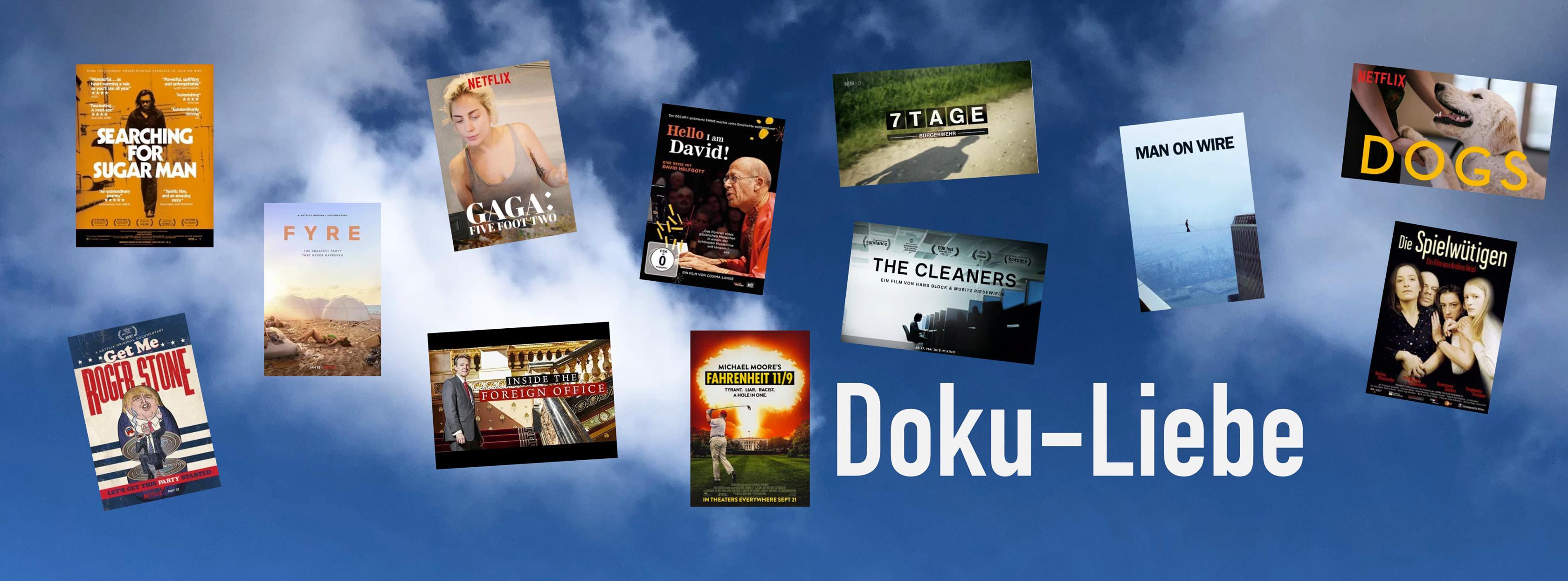 #DokuLiebe-Empfehlungen der letzten Woche