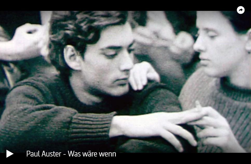 ARTE-Doku: Paul Auster - Was wäre wenn