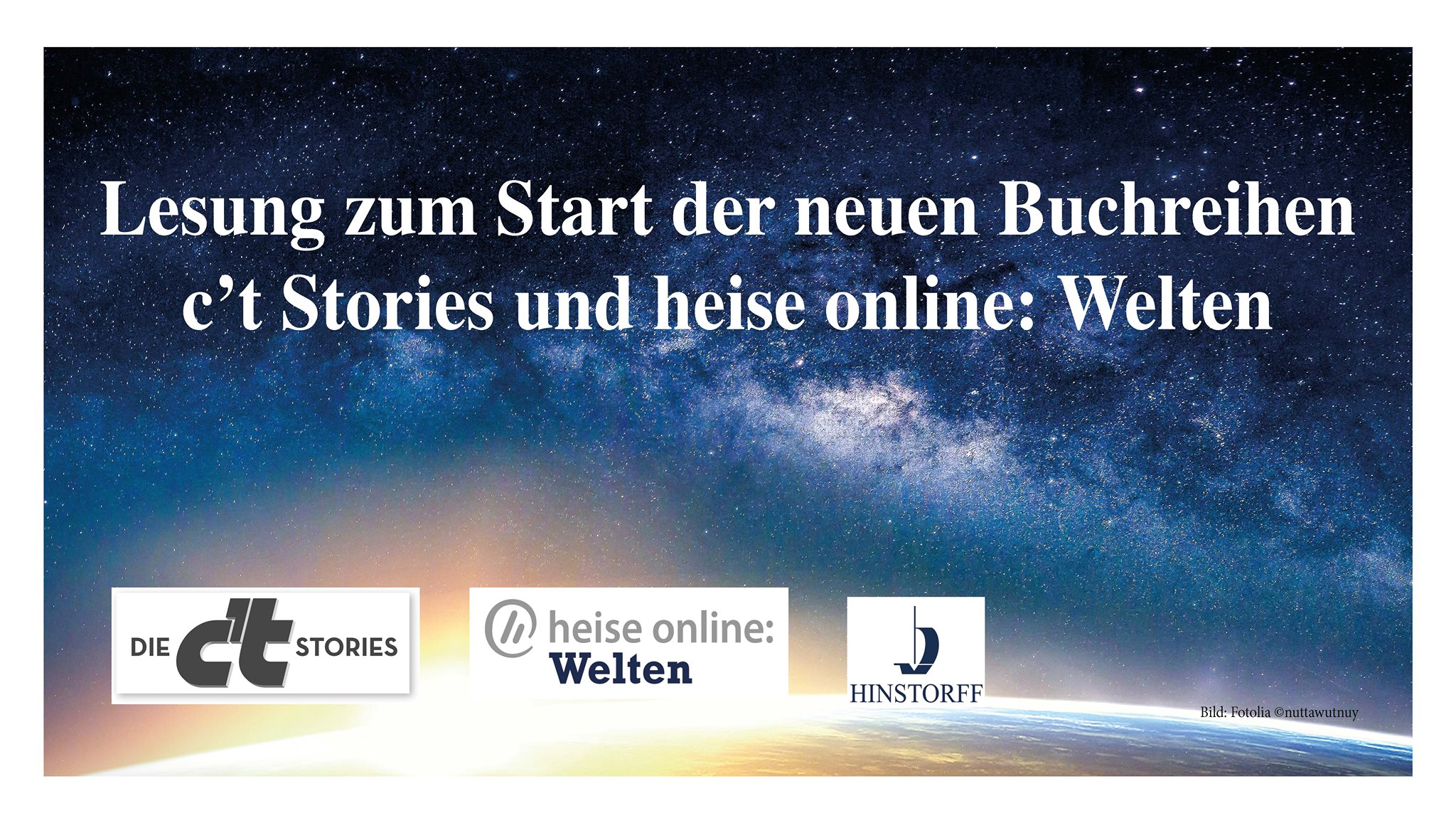 Science-Fiction-Lesung bei Heise