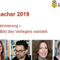 Bücher.Macher 2019