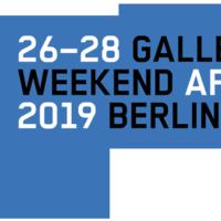 Gallery Weekend Berlin 2019
