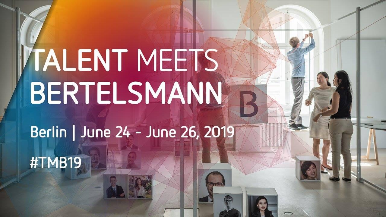Talent Meets Bertelsmann 2019