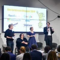 Von Preis zu Preis: Die Goldenen Blogger und das Bügelbrett