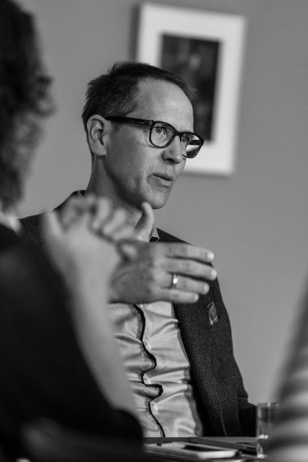Hauke Hückstädt, Literaturhaus Frankfurt: Gute Veranstaltungen lösen Gestaltungswillen aus