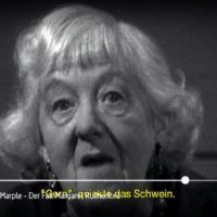 ARTE-Doku: Die wahre Miss Marple - Der Fall Margaret Rutherford