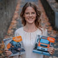 Monika Schaub: Im Darum Verlag verlege ich Kinderbücher für die Allerkleinsten