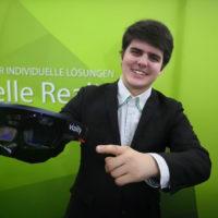 Timon Lorenz Thöne: Mein Thema ist die Kombination von Printmedien und digitaler Realität