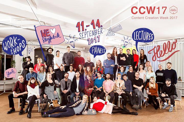 Blogfabrik: Content Creation Week
