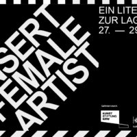 Insert Female Artist 2019 - Ein Literaturfestival zur Lage der Autorin