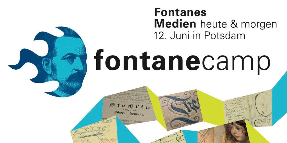 Wir veranstalten das 1. #FontaneCamp: Fontanes Medien