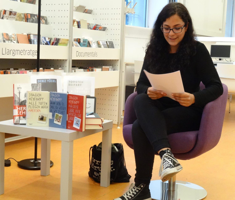 Isabella Caldart: Ich betreue die Social-Media-Kanäle des Deutschen Buchpreises und mache auch sonst Vielwörterei