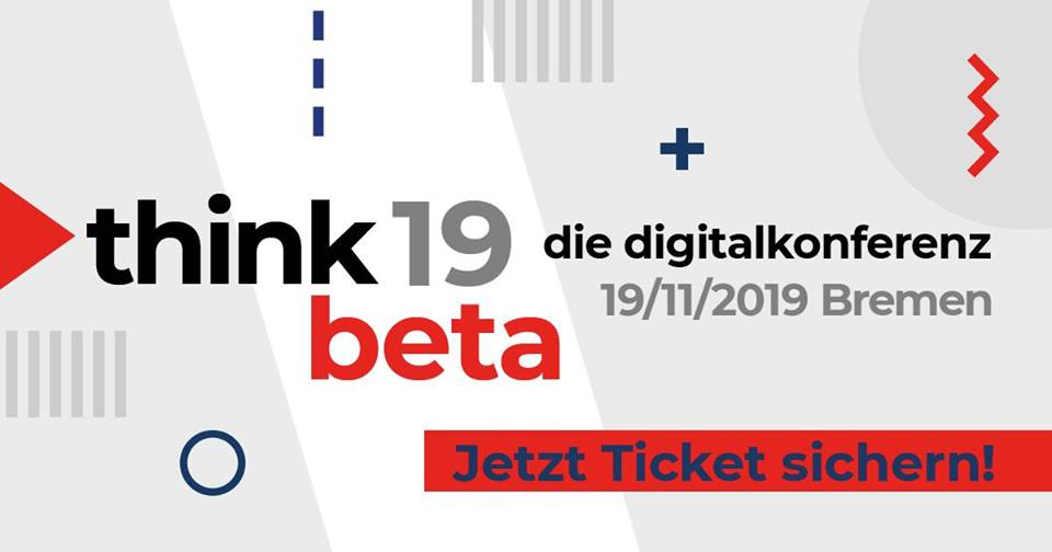 Think.beta19 - die digitalkonferenz
