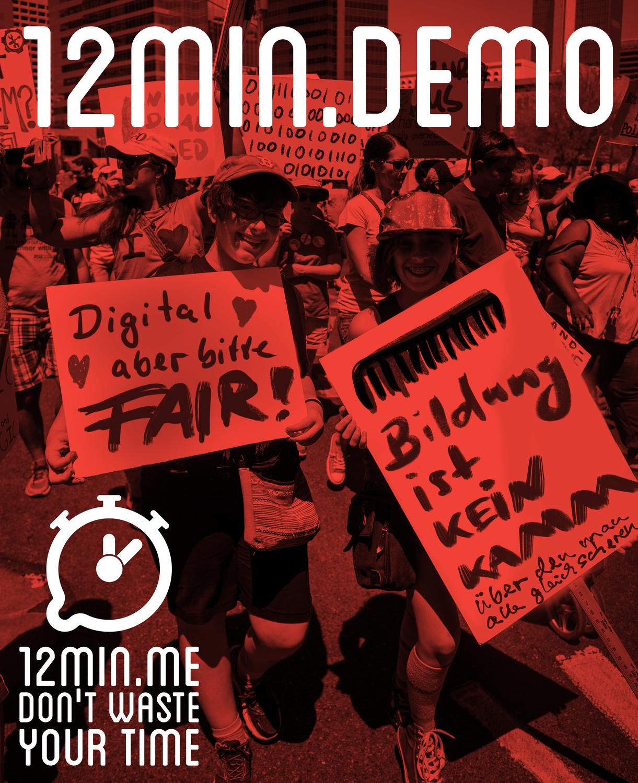 12min.me: Demo fürs Metathema begleitend zur Konferenz
